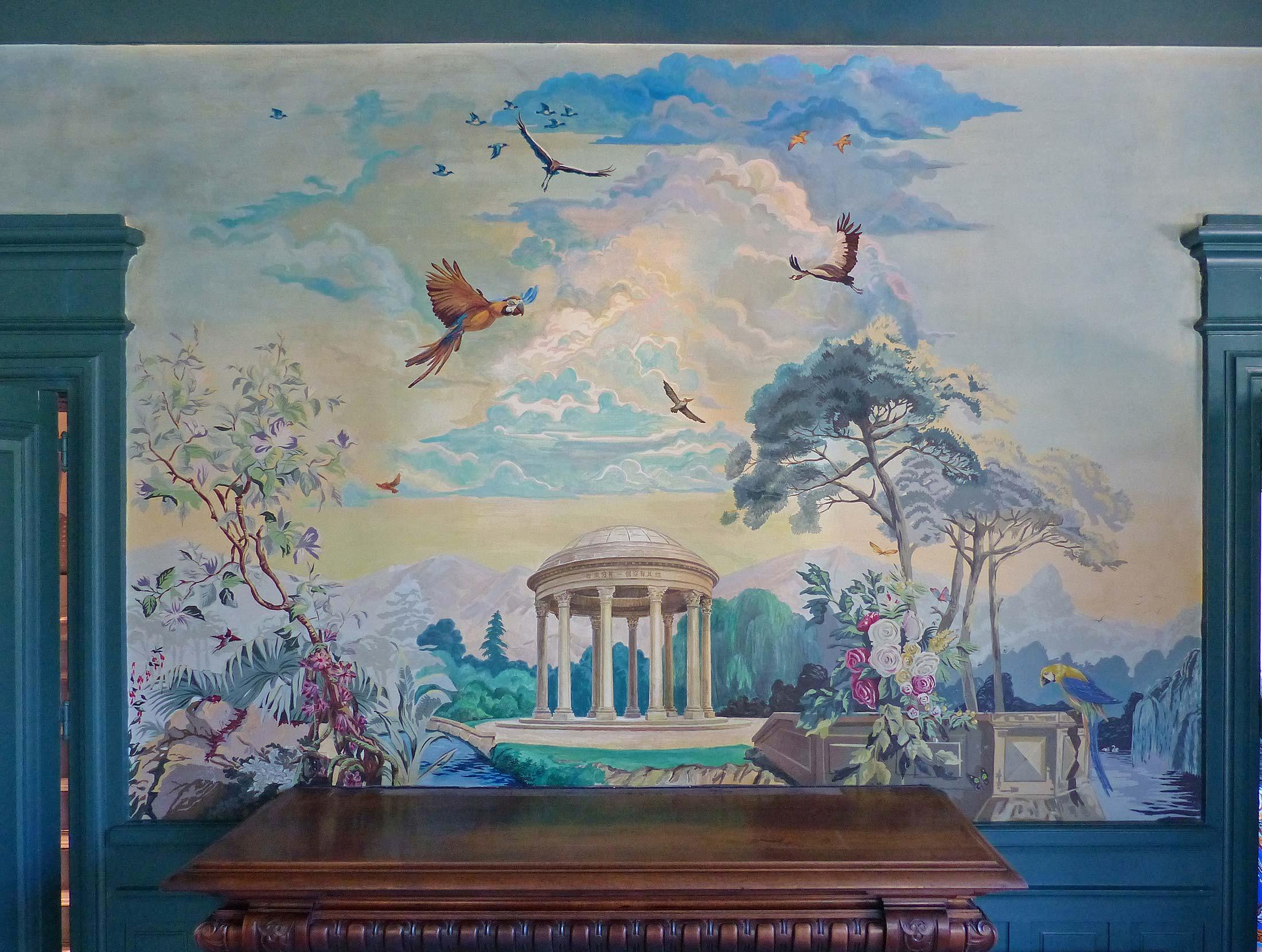 Настенная художественная роспись – Фреска – Декоративные работы